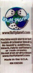 Fluff Planet sample weave